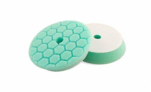 "Flexipads PRO-Detail 5.5"" HEX GREEN Heavy Polishing Pad"