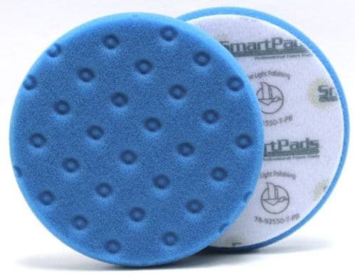 Lake Country CCS Smart Foam Pad - BLUE (Light Polishing/Finessing)
