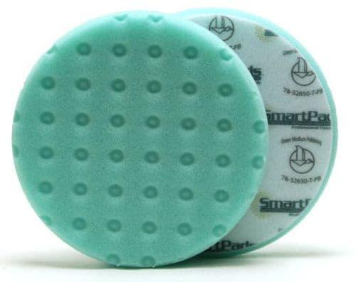 Lake Country CCS Smart Foam Pad - Green (Polishing/Finishing/AIO)