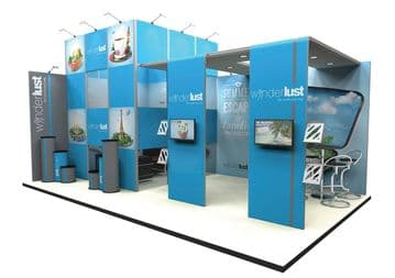 Custom Modular Exhibition stands