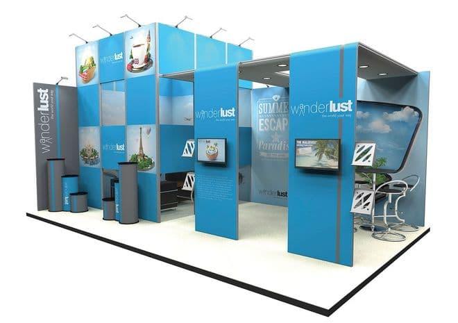 Custom Modular Exhibition stands