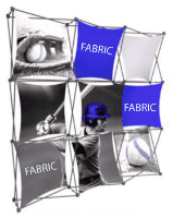 Fabric Panel Pop Up