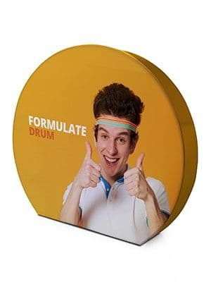Formulate Drum DOUBLE Sided With Bag