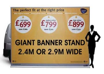 Giant Banner Stand