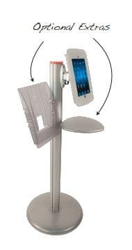 Robust iPad Holder With Accessories
