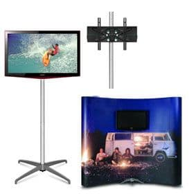Add A Plasma, LCD or TV Screen To Your Pop Up Stand With This Robust Screen Mount