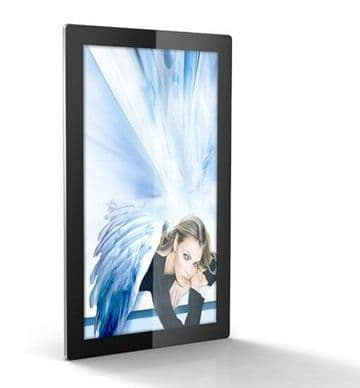 """Slimline Android """"Tablet Style"""" Wall Mounting Digital Media Screens"""