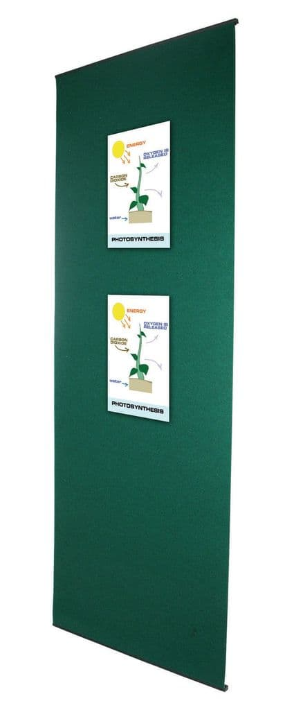 Uno Fabric Banner Stand System For Fixing Posters With Velcro