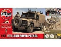 AIRFIX A50121 1:48 SCALE British Forces Land Rover Patrol Gift Set