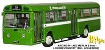 BRITBUS ME 04 00 SCALE AEC MERLIN 2DR LONDON COUNTRY