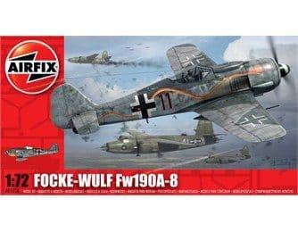 AIRFIX A01020 1:72 SCALE Focke Wulf Fw190A-8
