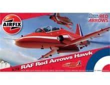 AIRFIX A02005A 1:72 SCALE RAF Red Arrows Hawk