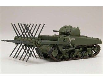 AIRFIX A02320 1:76 OO SCALE Sherman Crab Tank