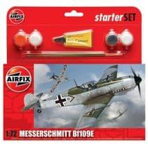AIRFIX A55106 1:72 SCALE Messerschmitt Bf109E-3 Starter Set