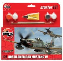AIRFIX A55107 1:72 SCALE  North American Mustang IV Starter Set