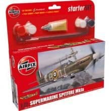 AIRFIX A76502 1:72 SCALE Supermarine Spitfire MK1A Model Kit.