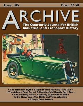 ARCHIVE MAGAZINE ISSUE 105 ISSN: 1352-7991-105