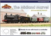 BACHMANN 30-105  1:76 OO SCALE  The Midland Marvel Train Set
