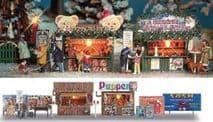 BUSCH 1060 HO Christmas Markets