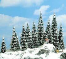 BUSCH BUS6466  20 Assorted Snowed Pine
