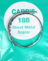 CARR'S C1004 Sheet Metal Solder 188