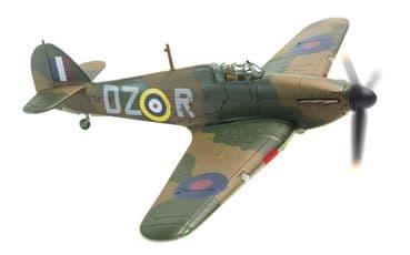 CORGI AVIATION ARCHIVE AA27601 1:72 SCALE Hawker Hurricane MkI V7434 DZ-R151 Sqd