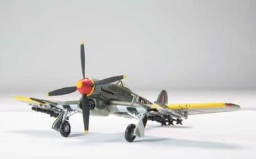 CORGI AVIATION ARCHIVE AA36509 1:72 SCALE Hawker Typhoon Mk IB 247 RAF Squadron