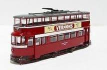 CORGI ORIGINAL OMNIBUS OM40502 00 SCALE Feltham bogie tram Leeds (ex London)