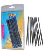 MODELCRAFT TOOLS PFL6001  Budget needle file set x 10