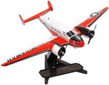 OXFORD DIECAST 72BE003 1:72 SCALE Beech UC-45J Expeditor