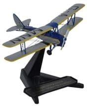 OXFORD DIECAST 72TM007 1:72 SCALE DH Tiger Moth G-AMNN Spirit of Pashley