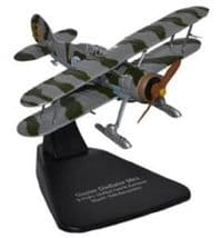 OXFORD DIECAST AC056 1:72 SCALE Gloster Gladiator with Skis FI 19 1940