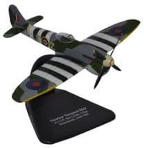 OXFORD DIECAST AC062 1:72 SCALE Hawker Tempest MkV No.3 Sqn. Newchurch 1944