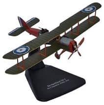 OXFORD DIECAST AD004 1:72 SCALE De Havilland DH4 No.5 Squadron RNAS 1918