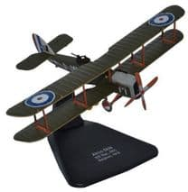 OXFORD DIECAST AD006 1:72 SCALE DH4 202 Squadron Royal Flying Corps 1918