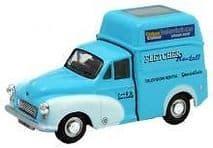 OXFORD DIECAST MM045 0 SCALE Fletchers Morris Minor High Top Van