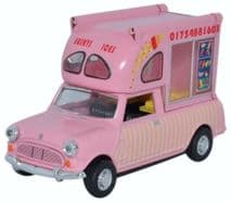 OXFORD DIECAST MP011  1:43 O SCALE Mini Batman Ice Cream Van Huskys Ices