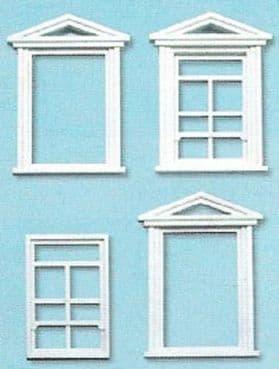 PECO LK-756 1:43 O SCALE Windows & Frames x 8