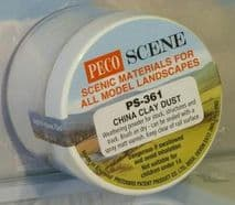 PECO PS-361 Brake China Clay Dust Weathering Powder