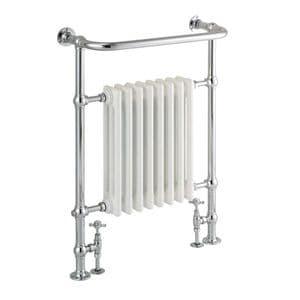 St James Heated Towel Rail with Cast Iron Fins - SJ950001