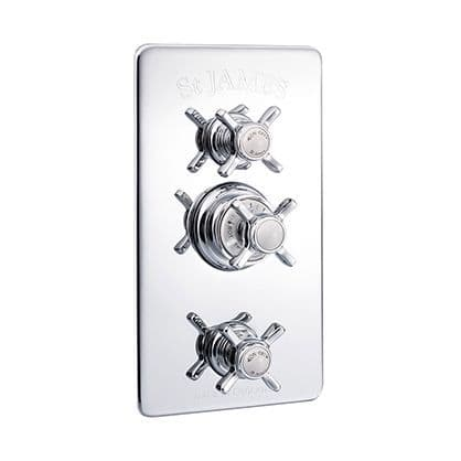 Traditional Thermostatic Valves With Diverter & Integral Flow Valves