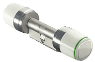 ACC1725 ISEO Libra SMART - Double Cylinder with Int & Ext Electronic Knob (Read In / Read Out)