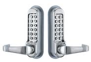 "SEC1108 CODELOCKS CL500 Series - Heavy Duty Tubular Mortice Latch Lock ""Back to Back"""